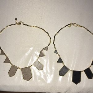House of Harlow 2 necklaces